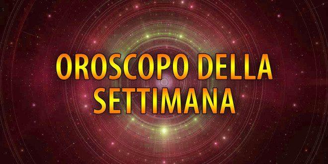 OROSCOPO DAL 23 AL 29 SETTEMBRE
